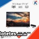 TCL Roku Smart TV 32 pulgadas .