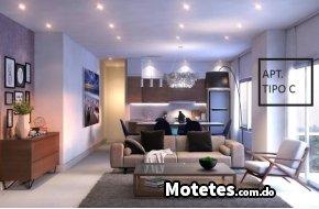 Apartamento en venta de 1 habitación en Naco