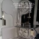 Sierra cortadora de Huesos (SinFin) de mesa para carnicería Nueva